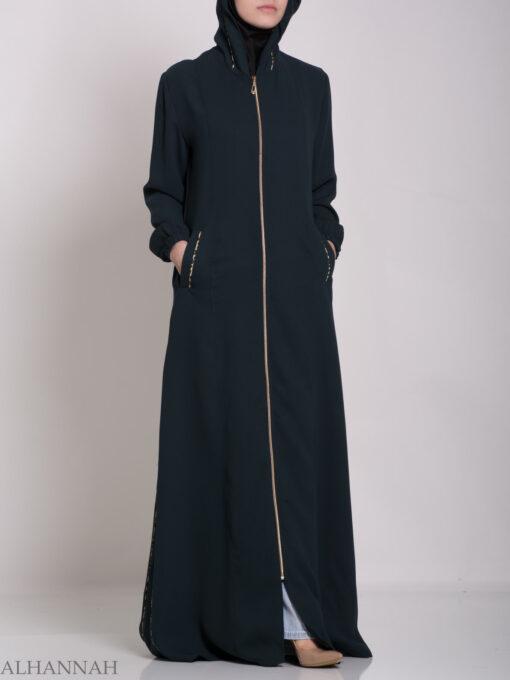 Wajihah Abaya - Moroccan Style Hooded ab672 (13)