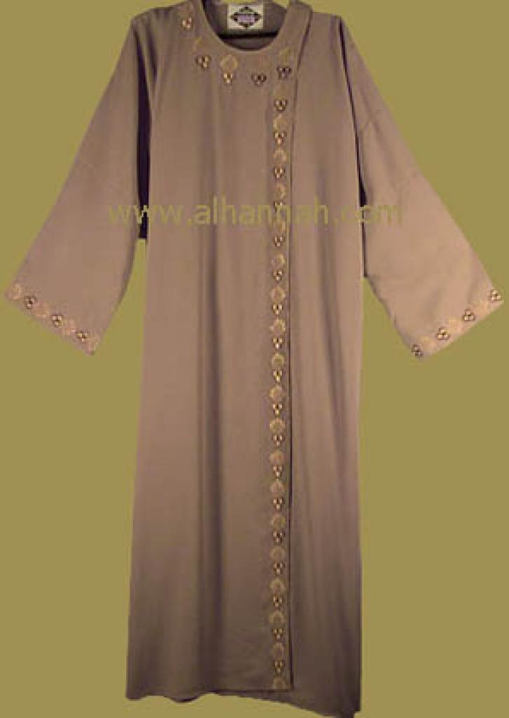 Syrian Abaya and Matching Shayla   ab118