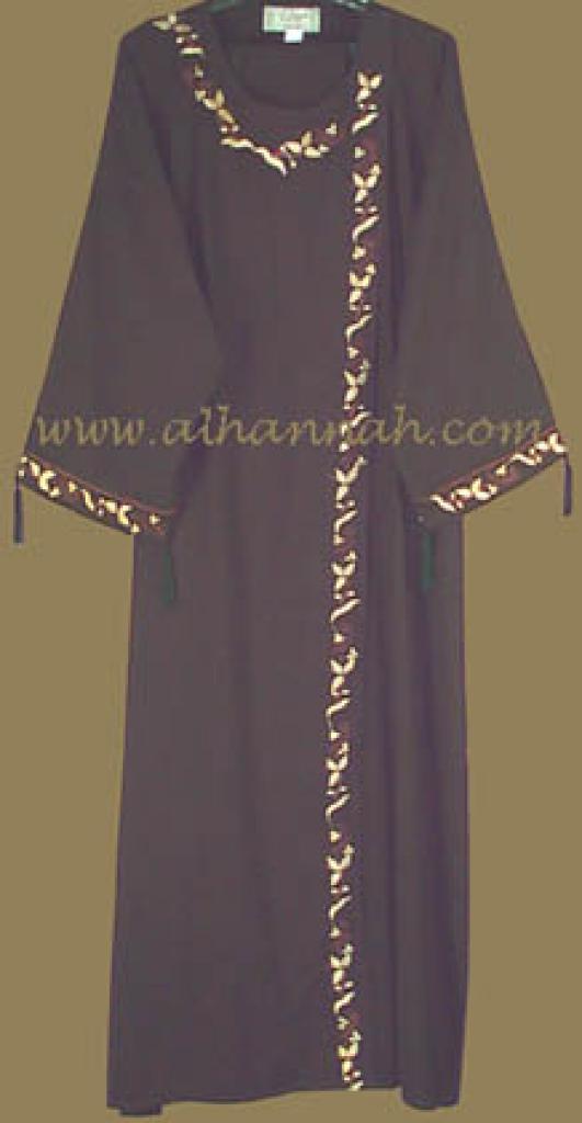 Classic Khalije Style Abaya ab203
