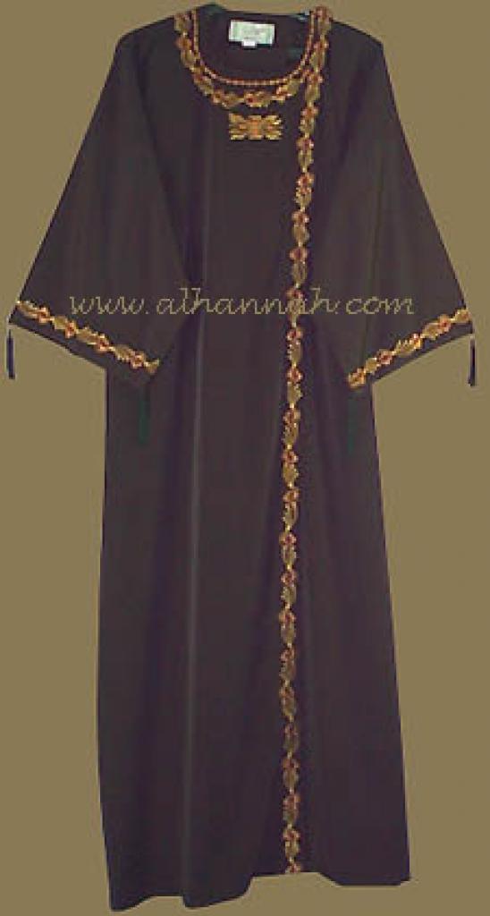 Classic Khalije Style Abaya   ab205