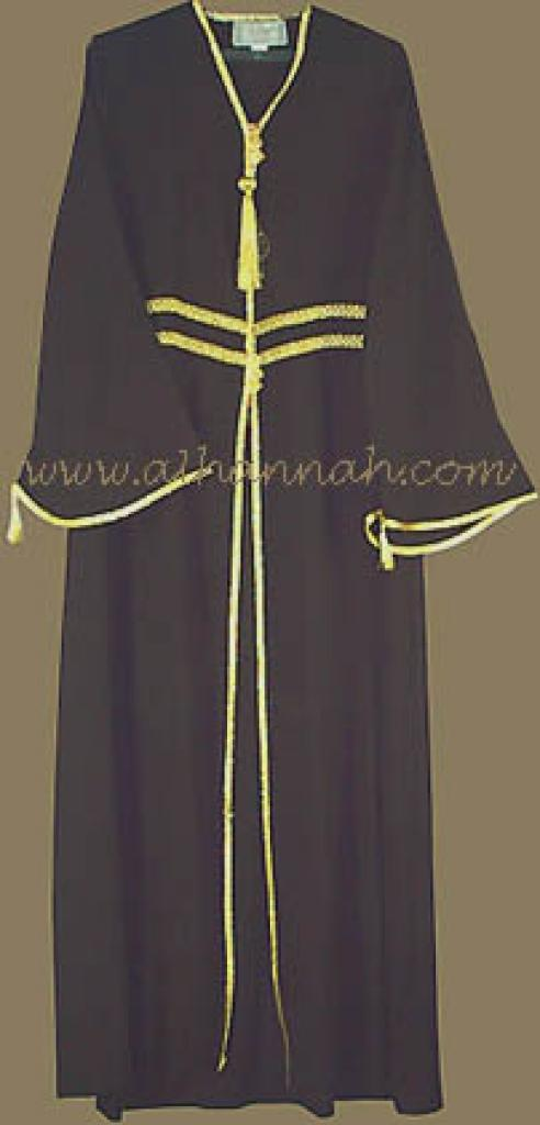 Elegant Khalije (Gulf) Style Abaya ab206