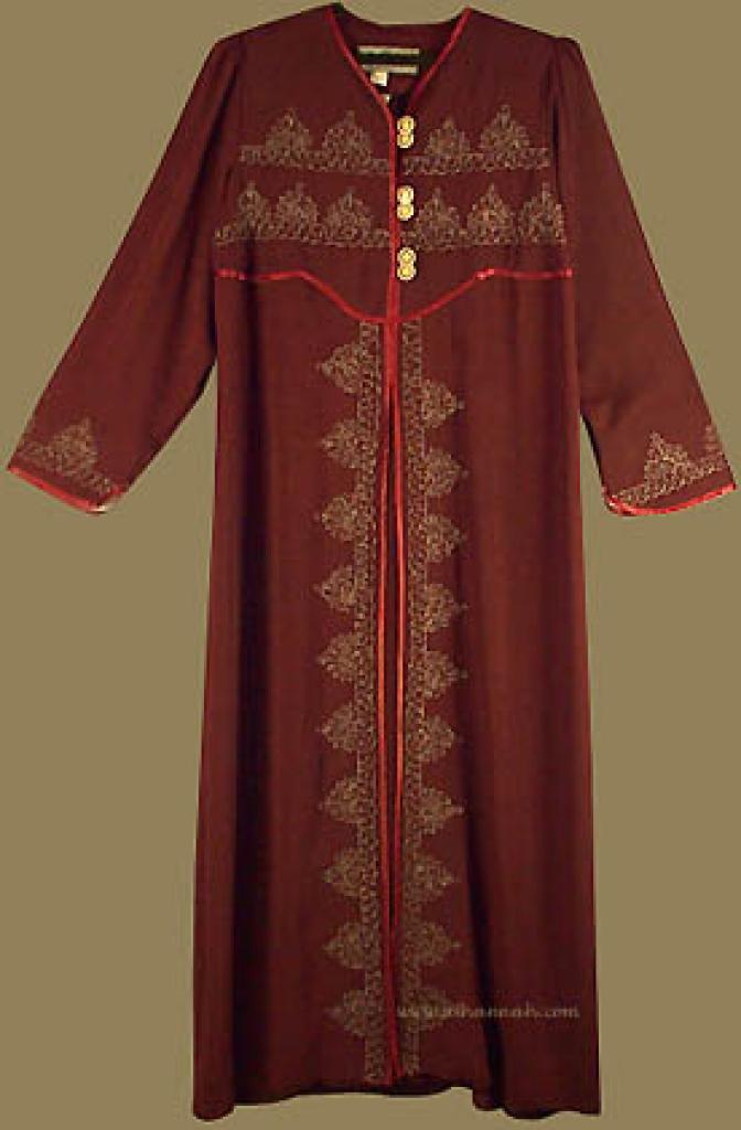 Khalije Style Abaya ab210