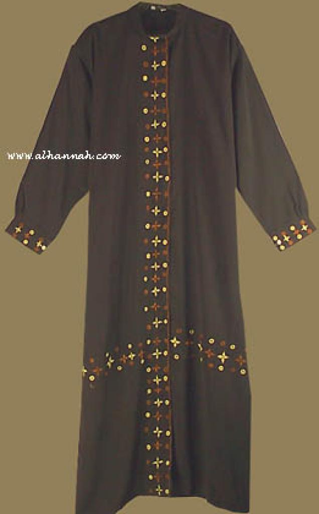 Traditional Embroidered Saudi Style Abaya ab212