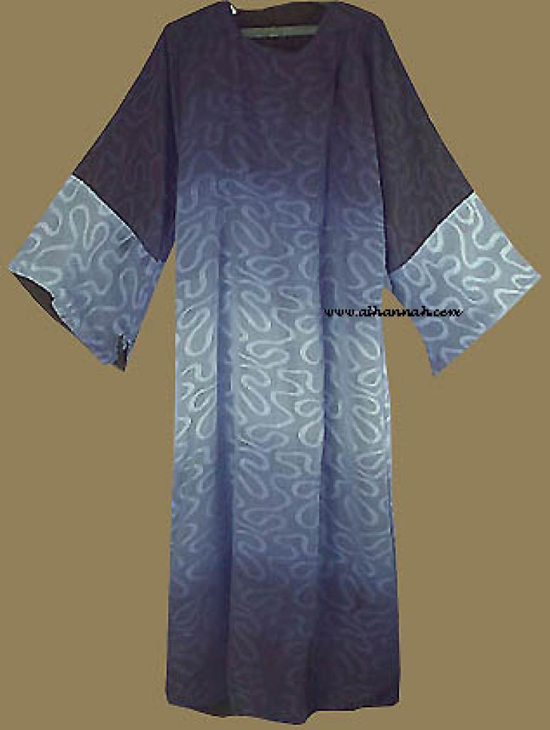 Reversable Omani Style Abaya with Matching Shayla  ab214