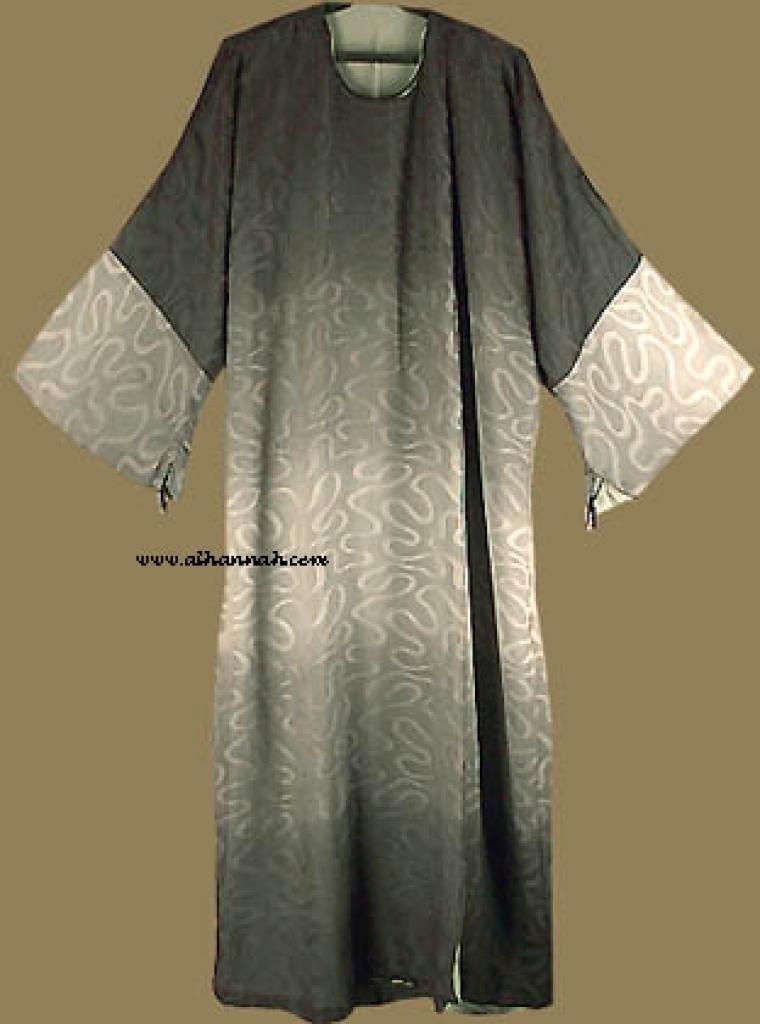 Reversable Omani Style Abaya with matching shayla  ab216