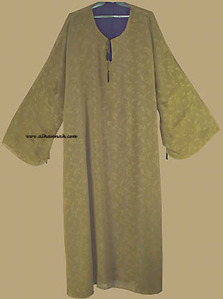 Reversable Saudi Style Slip Over Abaya with Matching Shayla  ab217