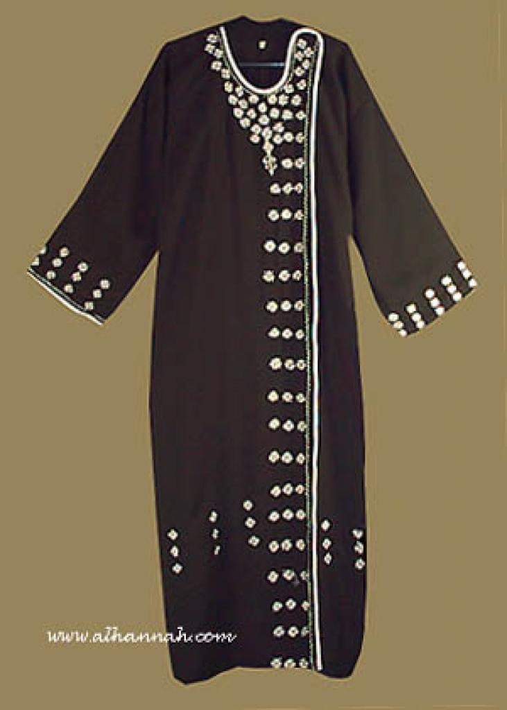 Classic Omani Style Abaya ab219