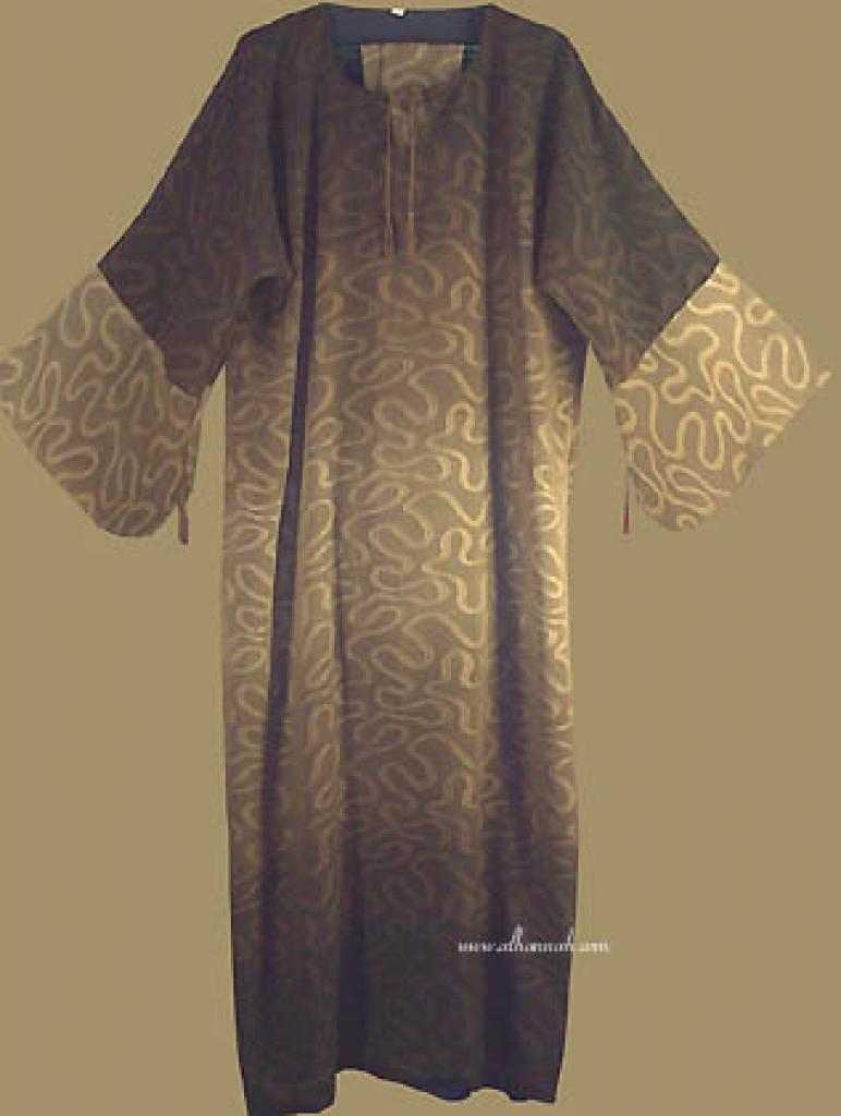 Reversable Pull Over Style Abaya with Matching Shayla ab223