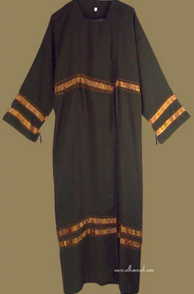 Classic Khalije (Gulf) Style Abaya  ab224