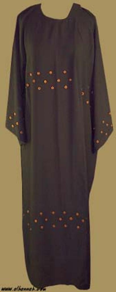 Embroidered Khalije Style Abaya  ab228