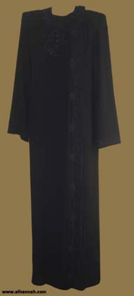 Traditional Khalije (Gulf) Style Abaya ab233