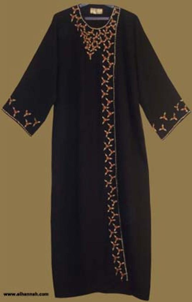 Traditional Khalije (Gulf) Style Abaya ab234