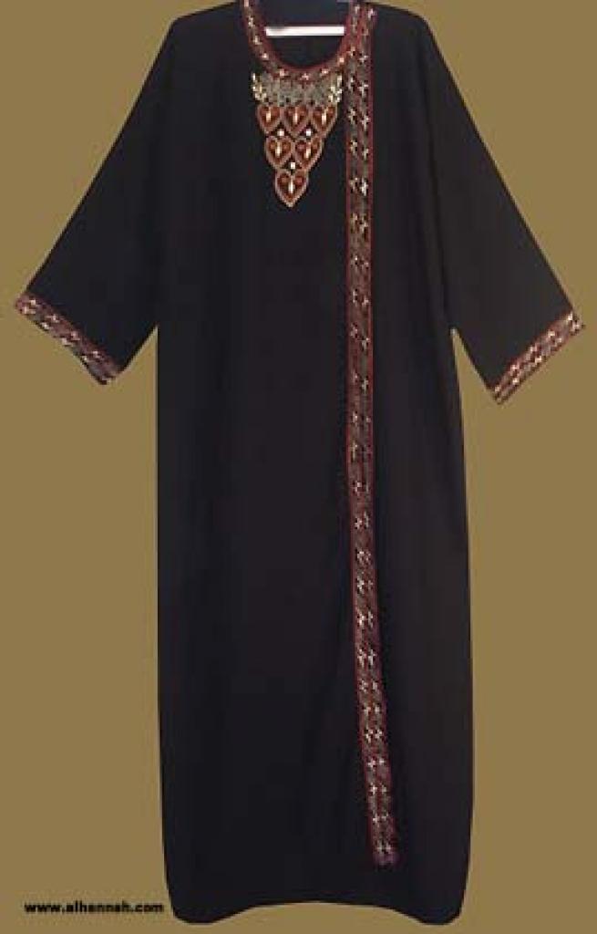 Traditional Khalije (Gulf) Style Abaya ab235