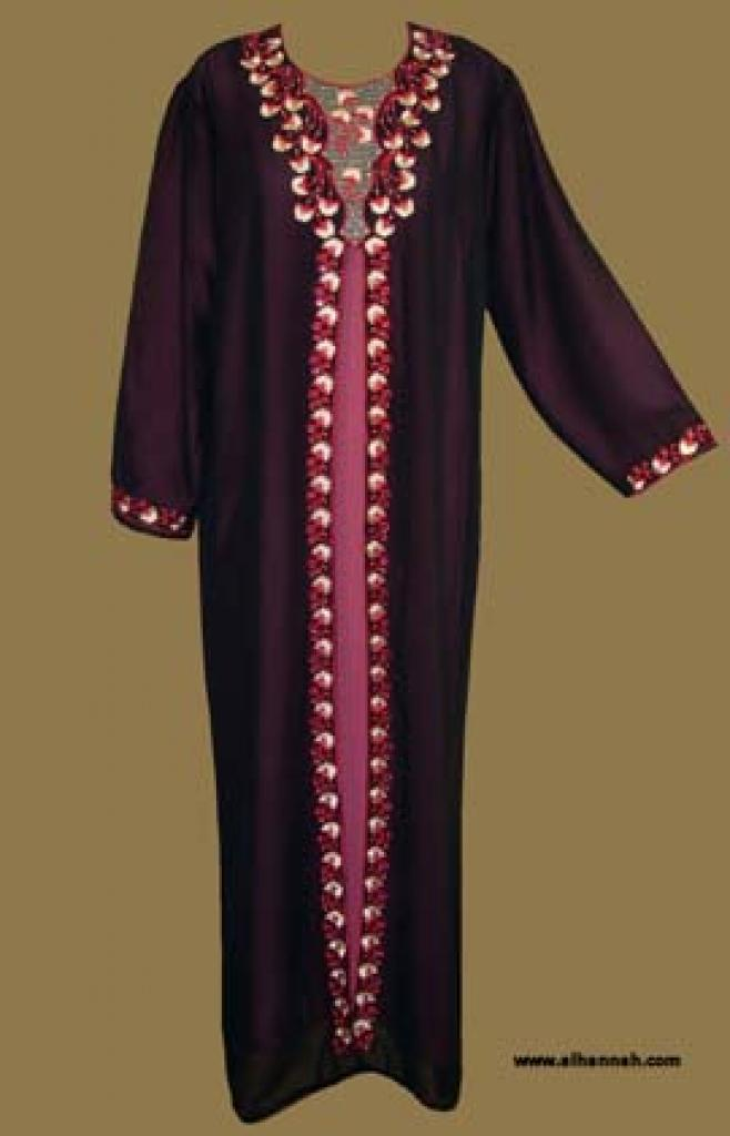Classic Arabian Pull-Over Abaya ab245