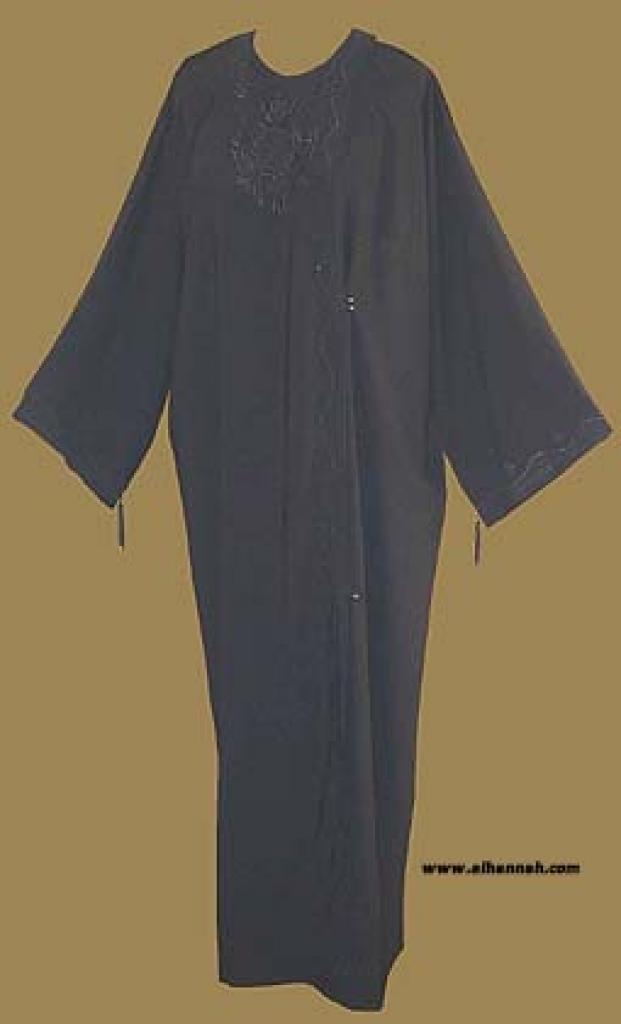 Embroidered Emerite Style Abaya ab246