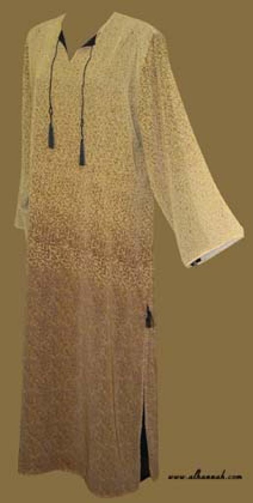 Traditional Arabian pull-over Abaya  ab249
