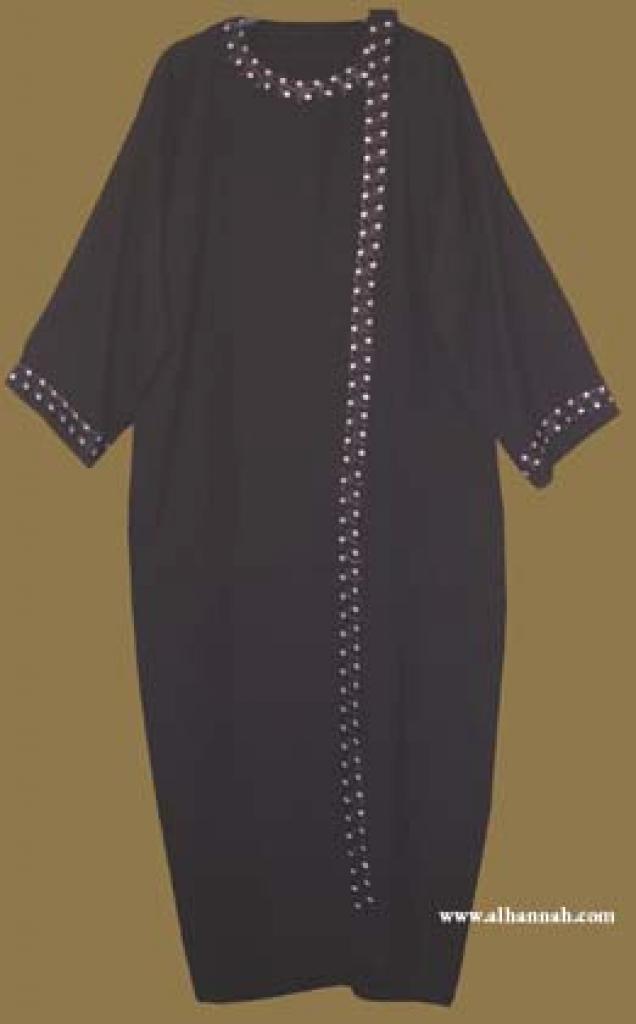 Classic Khalije (Gulf) Style Abaya  ab256