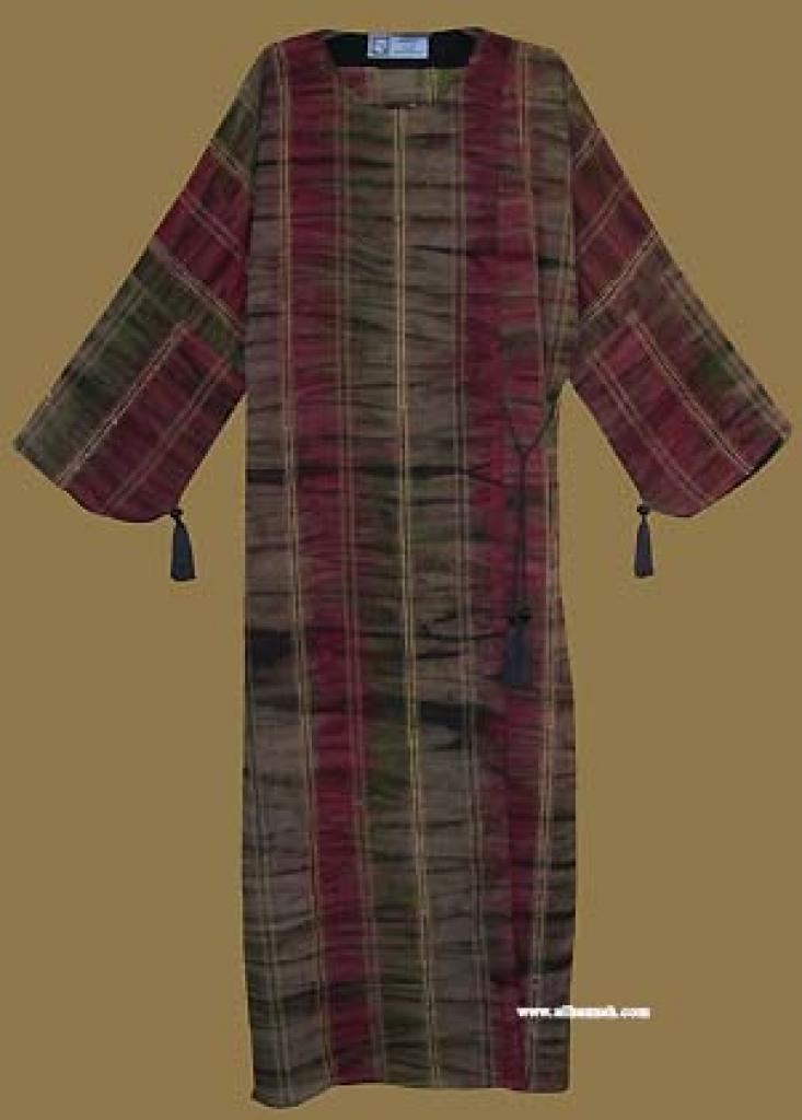Khalije (Gulf) Style Tye Dye Abaya ab259