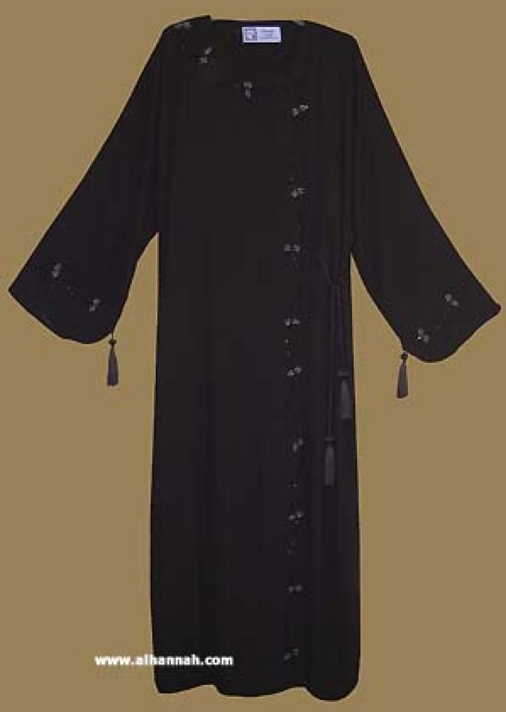 Traditional Khalije (Gulf) Style Abaya ab260