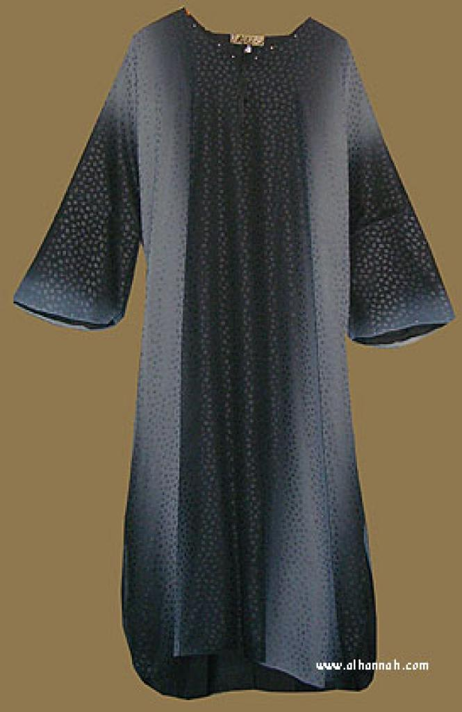 Traditional Arabian pull-over Abaya and Matching Shayla (Oblong Scarf)  ab272