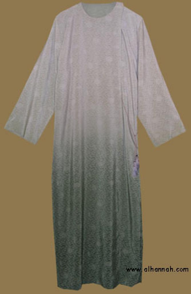 Reversible Omani style Abaya ab274