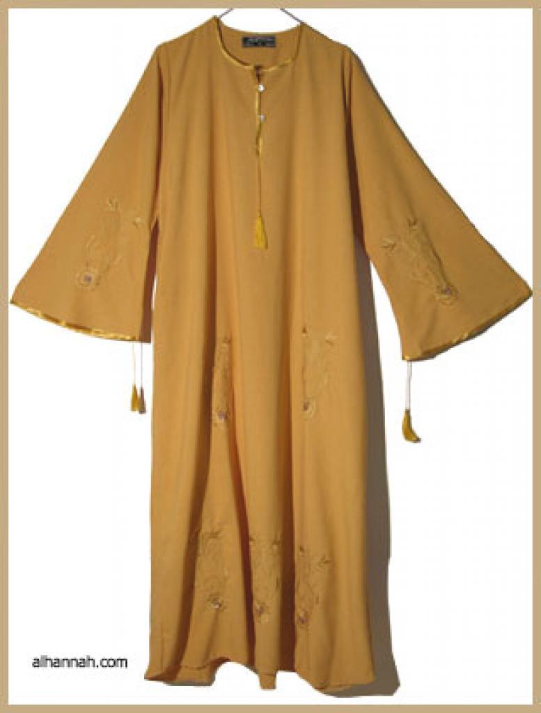 Embroidered Moroccan Abaya ab300