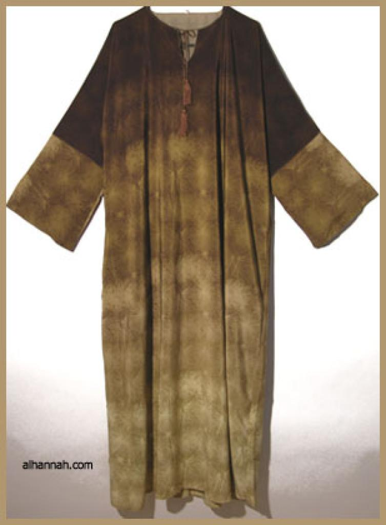 Traditional Double Layered Pull Over Abaya.  ab301