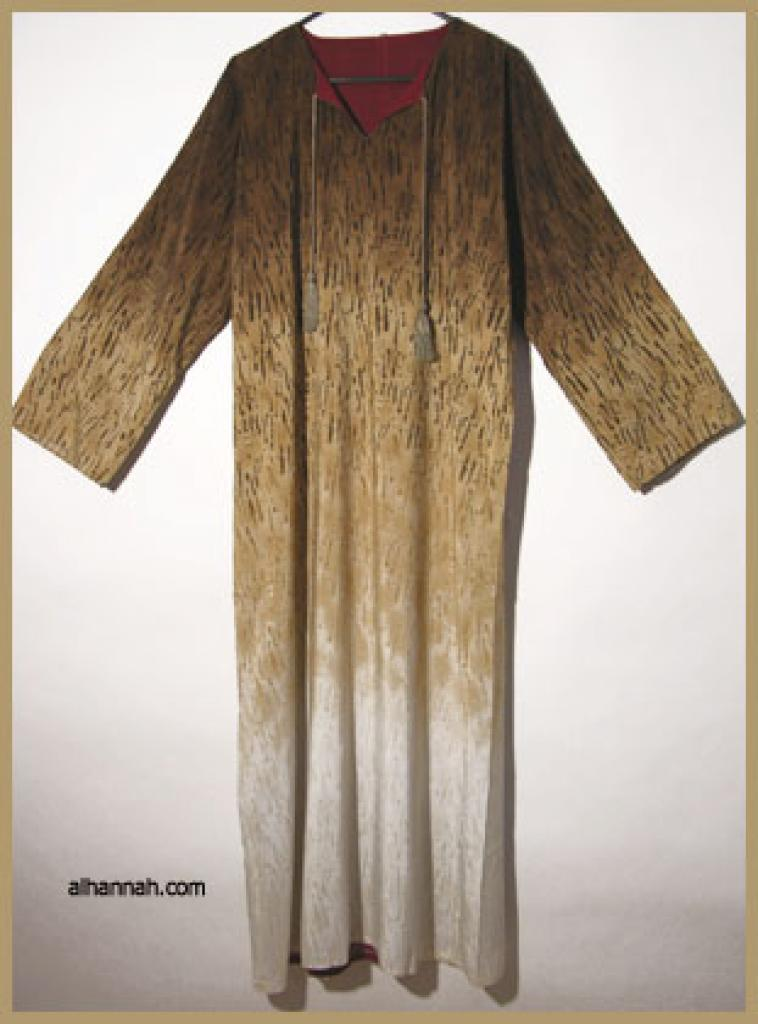 Traditional Double Layered Pull Over Abaya.  ab302
