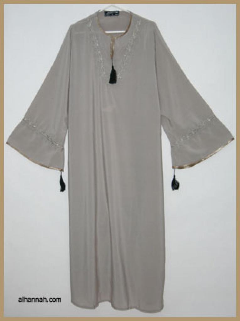Embroidered Moroccan Abaya  ab305