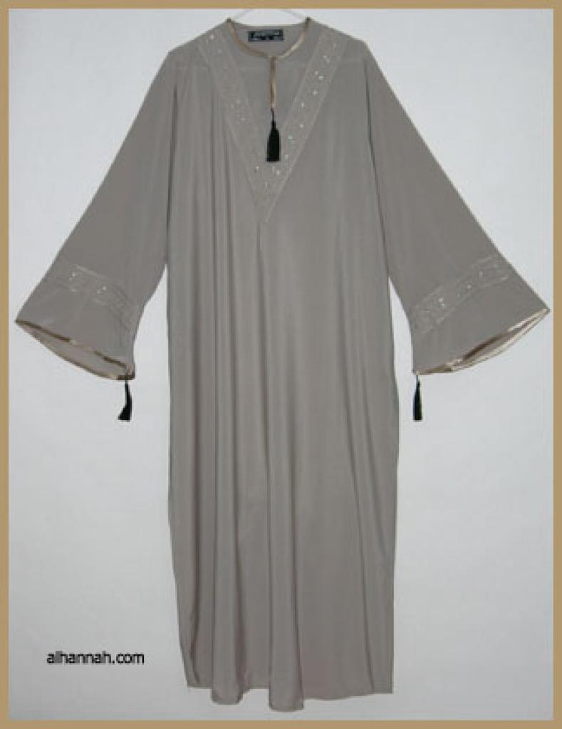 Embroidered Moroccan Abaya  ab306