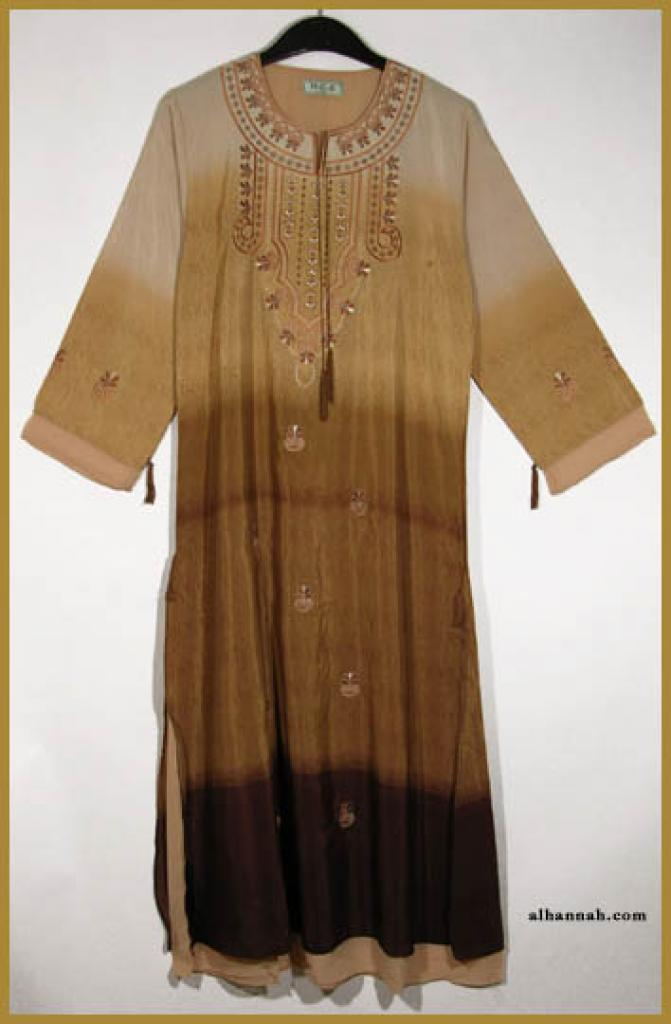 Embroidered Pull Over Abaya ab319