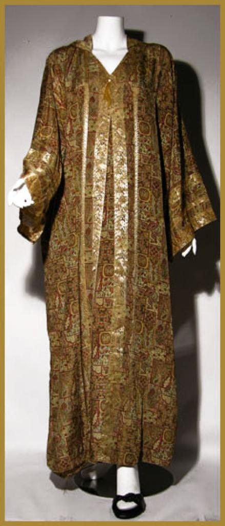 Hooded Moroccan Style Abaya ab326