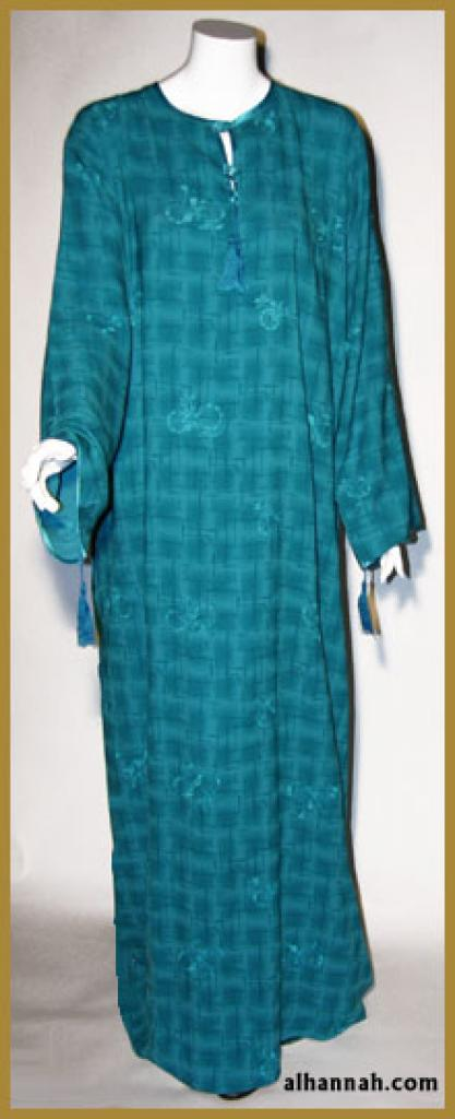 Moroccan pull over abaya in extra tall lengths ab331