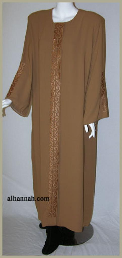 Traditional Embroidered Pull Over Abaya ab333