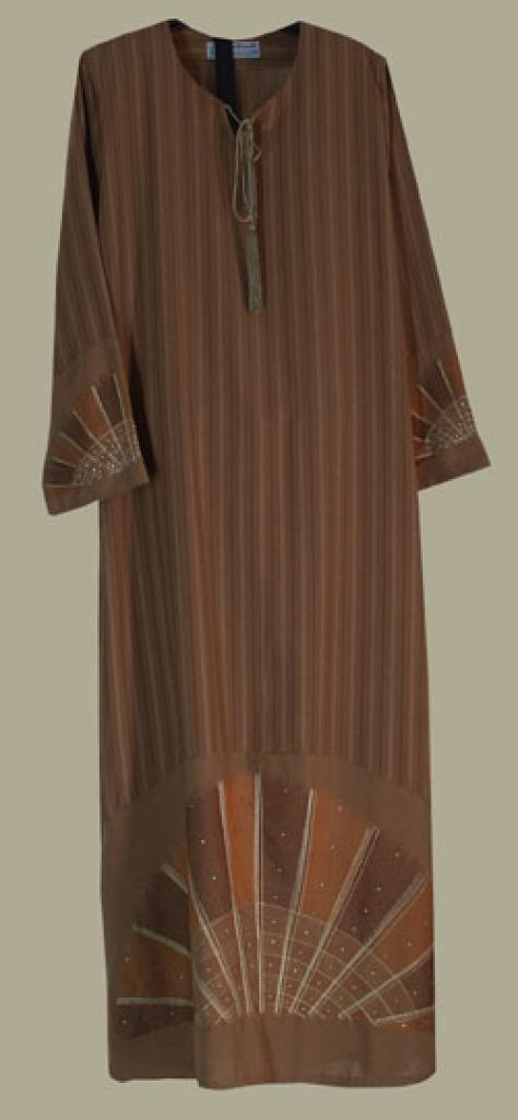 Al Karam Embroidered Pull Over Abaya ab352