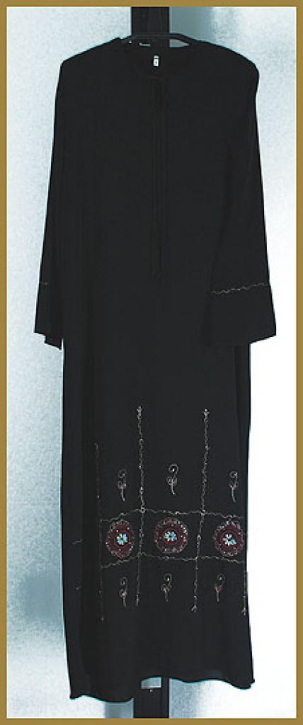 Embroidered  Pull-Over Abaya ab373