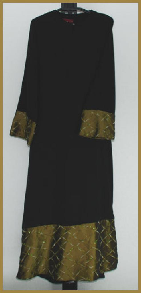 Embroidered  Pull-Over Abaya ab375