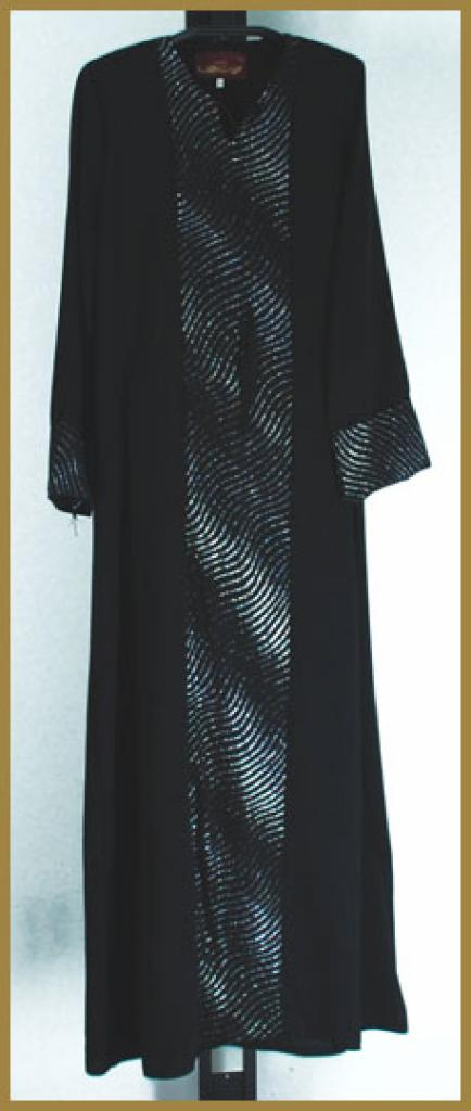 Embroidered  Pull-Over Abaya ab376