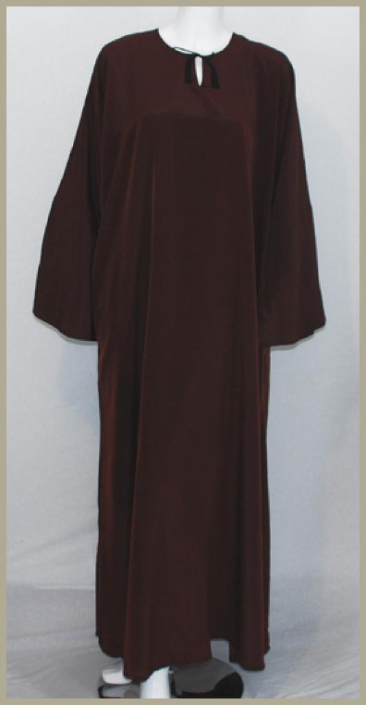 Traditional Saudi Pull-Over Abaya ab393