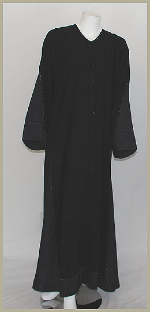 Saudi Style Pull-Over Abaya ab394