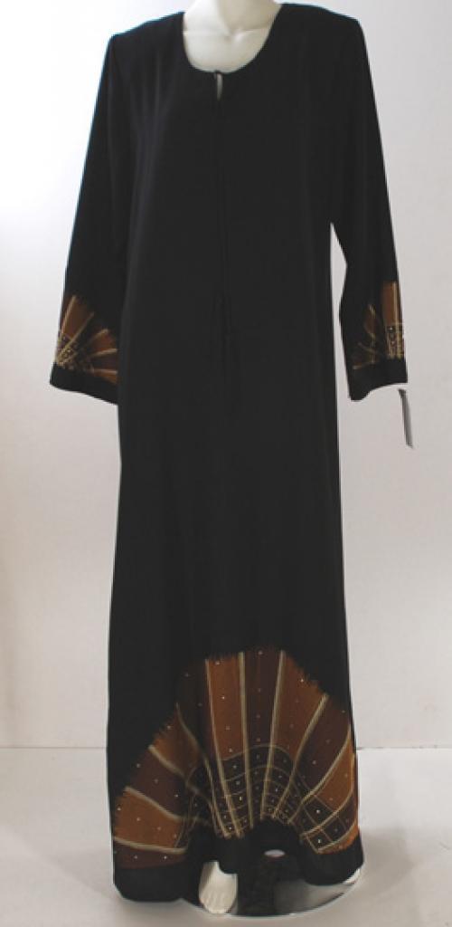 Al Karam Embroidered Starburst Abaya ab426
