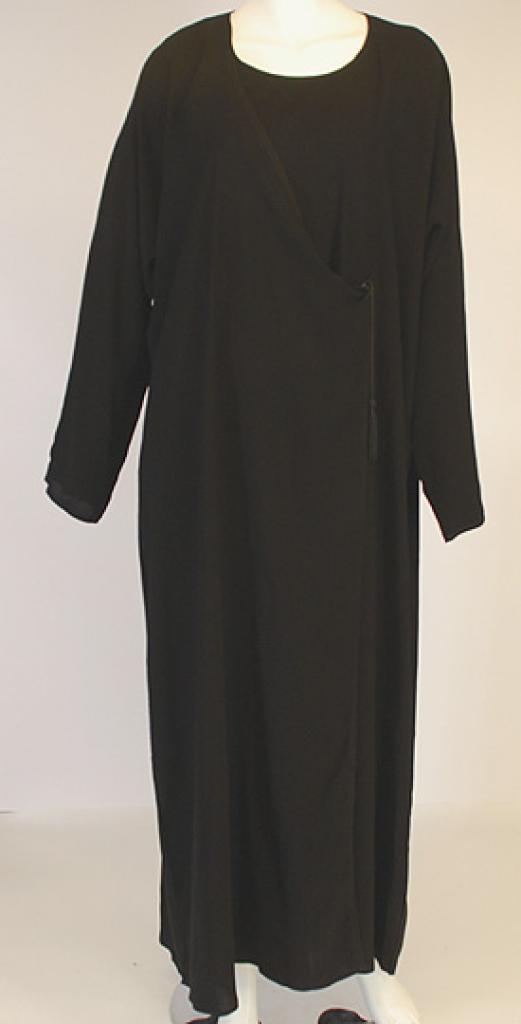 Rabia Coat-style Classic Abaya   ab431