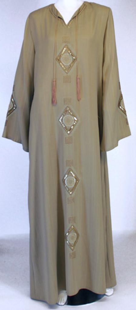Khadra Embroidered Abaya ab434