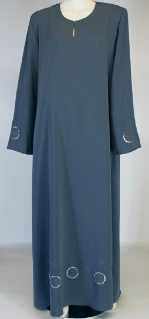 Al Karam Ilya Embroidered Abaya  ab435