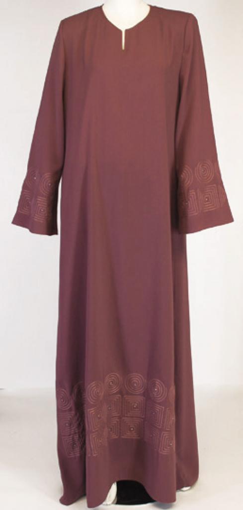 Miskah Al Karam Embroidered Abaya ab436