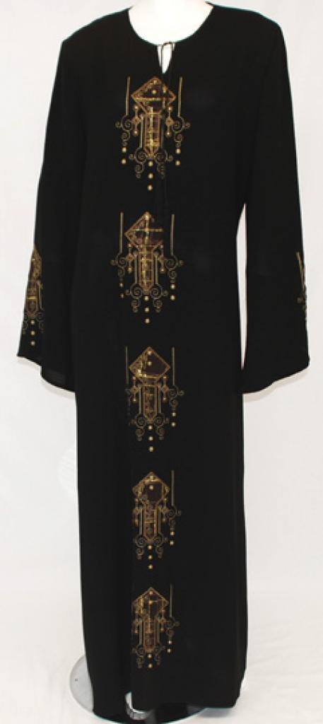 Arjah Al Karam Embroidered Abaya ab440