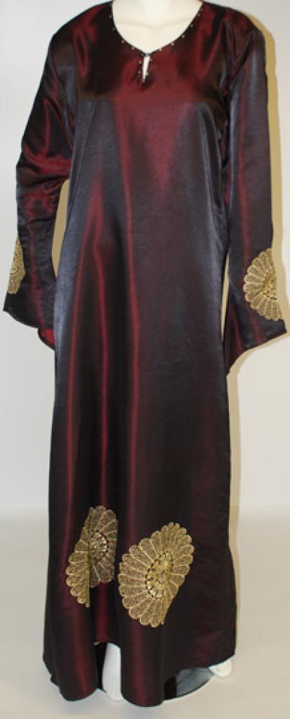 Ajdabiyah Al Karam Embroidered Abaya  ab448