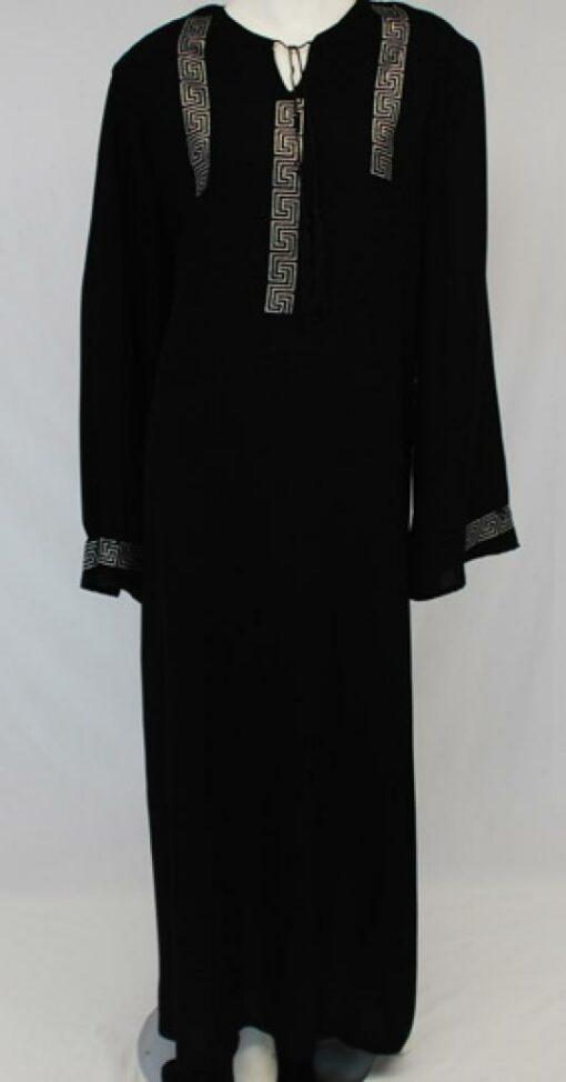 Al Karam Petra Beaded Abaya ab450