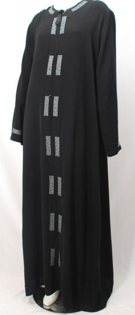 Al Karam Anisah Embroidered Abaya ab465
