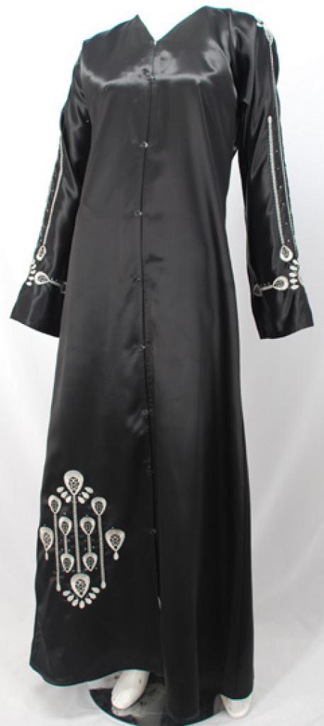 Al Karam Hafya Embroidered Abaya  ab467